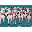 Tissu coton - Les vaches