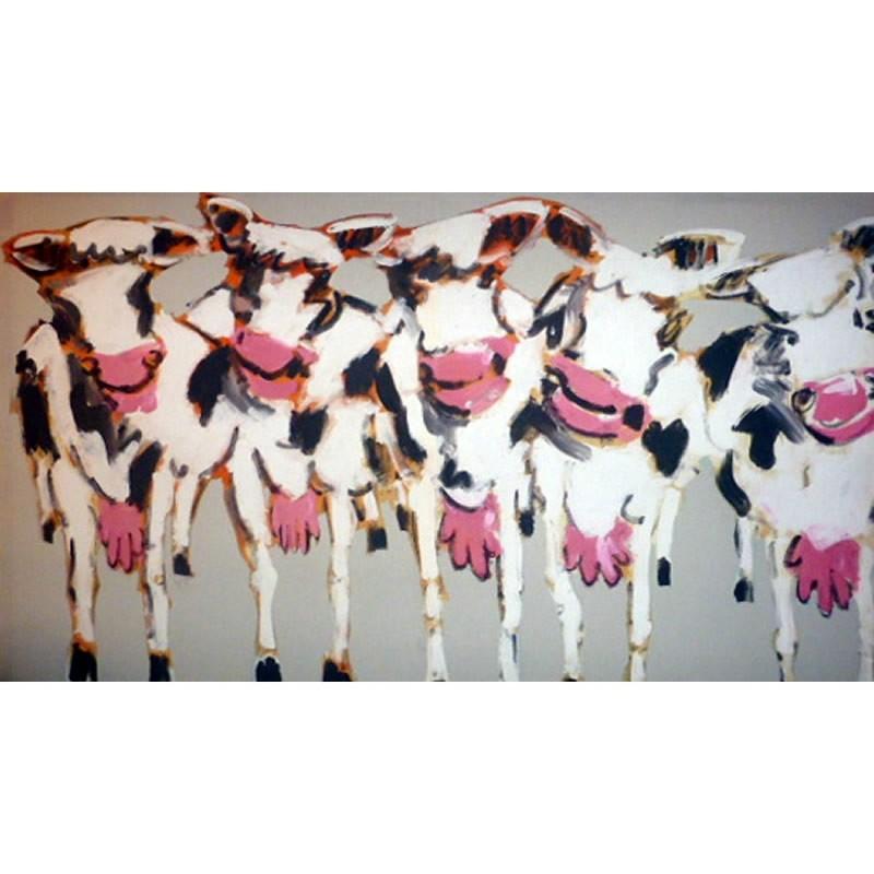 tissu plattier tissu les vaches tissu thevenon tissu coton tissu. Black Bedroom Furniture Sets. Home Design Ideas