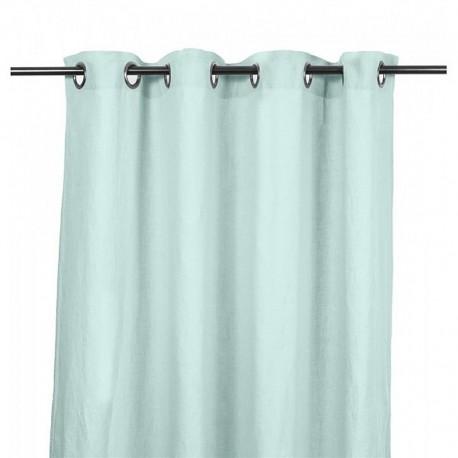 Rideaux lin lavé Propriano - Céladon - Harmony textile