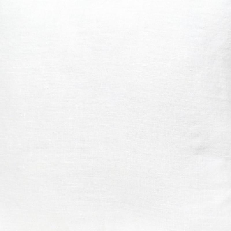 Tissu lin blanc propriano tissu m tre lin stone wash uni harmony blanc - Tissu lin lave au metre ...