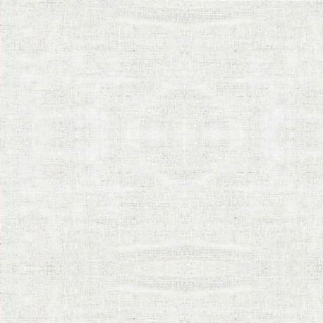Lin enduit uni au mètre - Linen - stof 175cm - BLANC