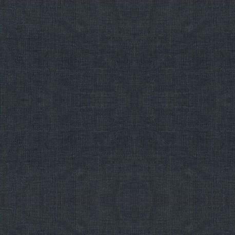 Lin enduit uni au mètre - Linen - stof 175cm - ANTHRACITE