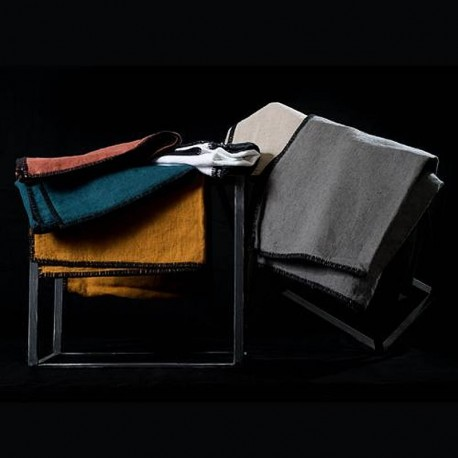 Serviettes de table LETIA lin lavé