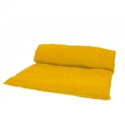 Housse d'édredon Viti - lin lavé - Harmony textile SAFRAN