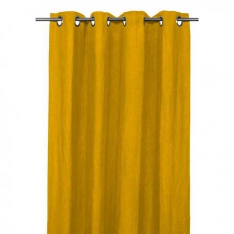 Rideau Lin Lave Propriano Harmony Textile Safran