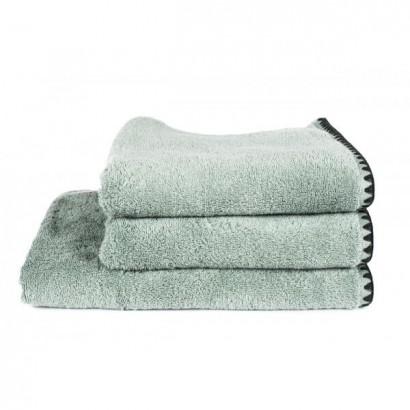 Serviettes de bain éponge ISSEY - CELADON