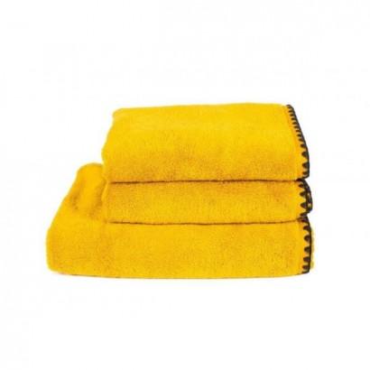 Serviettes de bain éponge ISSEY - SAFRAN