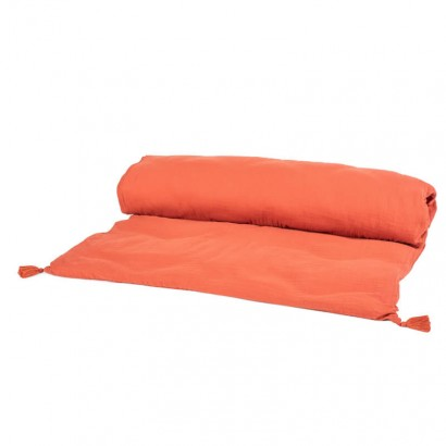 Housse d édredon DILI - Harmony textile - ARGILE