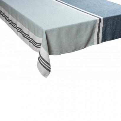 Nappe Trevise céladon lin tissé teint Harmony textile