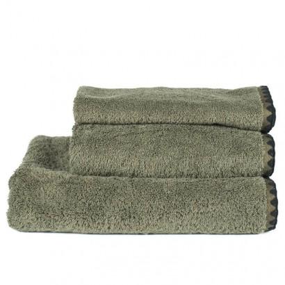 Serviettes de bain éponge ISSEY Harmony textile - KAKI