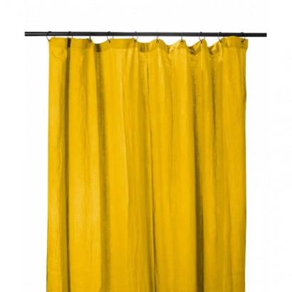 Rideau DILI coton Harmony textile - SAFRAN