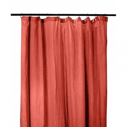 Rideau DILI coton Harmony textile - ARGILE