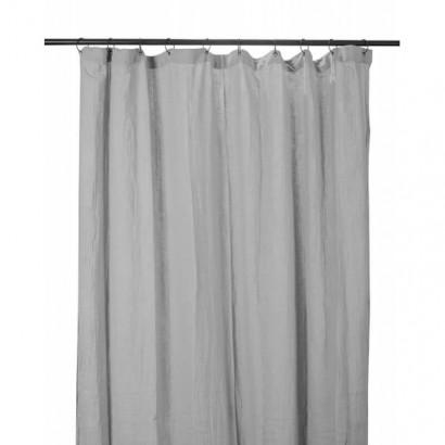 Rideau DILI coton Harmony textile - BROUILLARD