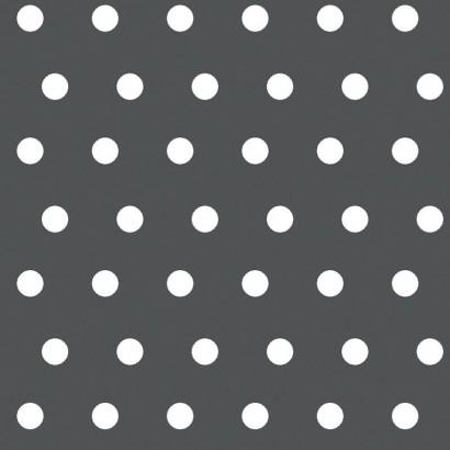 PEAS - Tissu enduit 100% coton - STOF - 155cm - ANTHRACITE