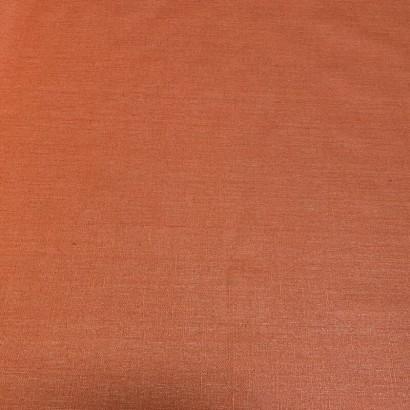 Tissu enduit lin - Livi - 150cm brick