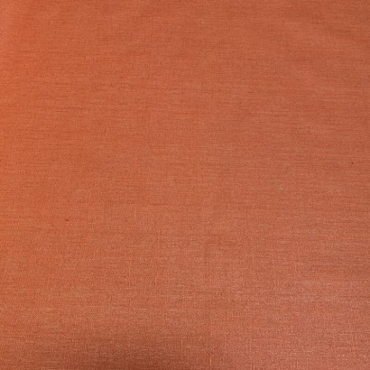 Tissu enduit lin - Livi - 150cm PAPRIKA