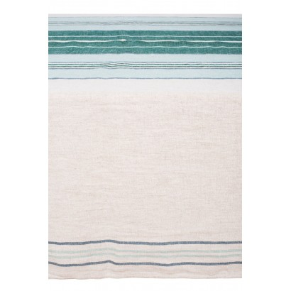 Serviettes de table PIANA lin stone wash - finition ourlet