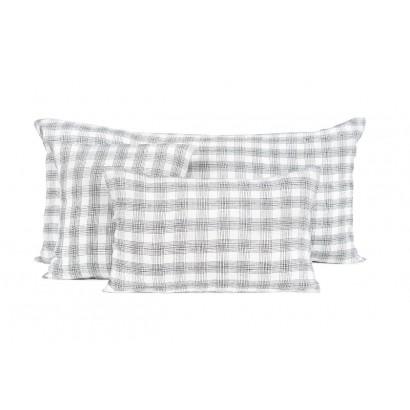 Monza housse de coussin Harmony Textile - BLANC
