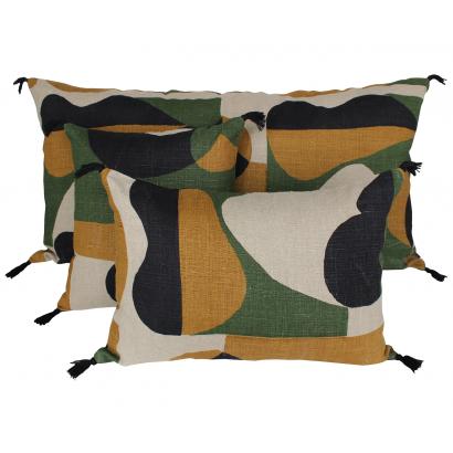 Nido housse de coussin Harmony Textile - Safran