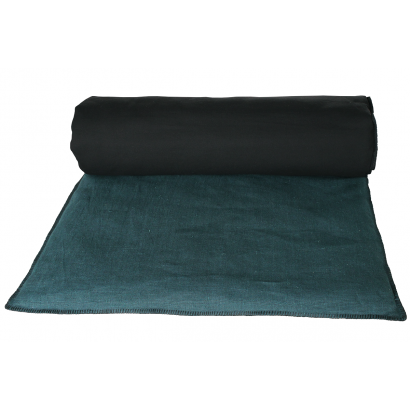 MANSA - Housse d'édredon Harmony textile 85 x 200 cm - BLANC