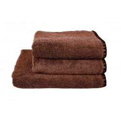 Serviettes de bain éponge ISSEY - Brick