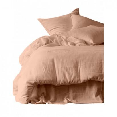Housse de couette DILI voile de coton - Harmony Textile - Cimarron