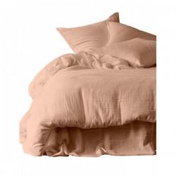 Housse de couette et taies d'oreiller DILI voile de coton - Harmony Textile - Cimarron