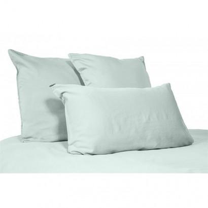 Housse de couette lin lavé stone wash Viti - Céladon - Harmony textile