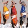 Tissu coton - Les thons - Peintre Plattier - Tissu Thevenon 140 cm de large