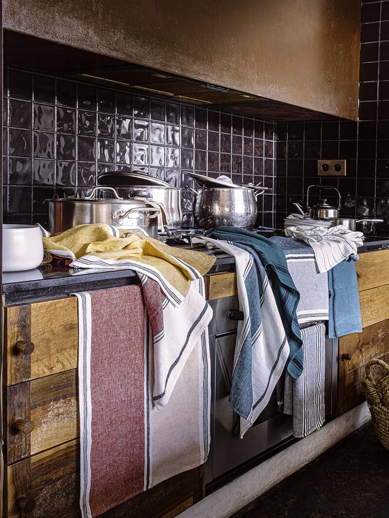 Torchons Olbia Harmony textile