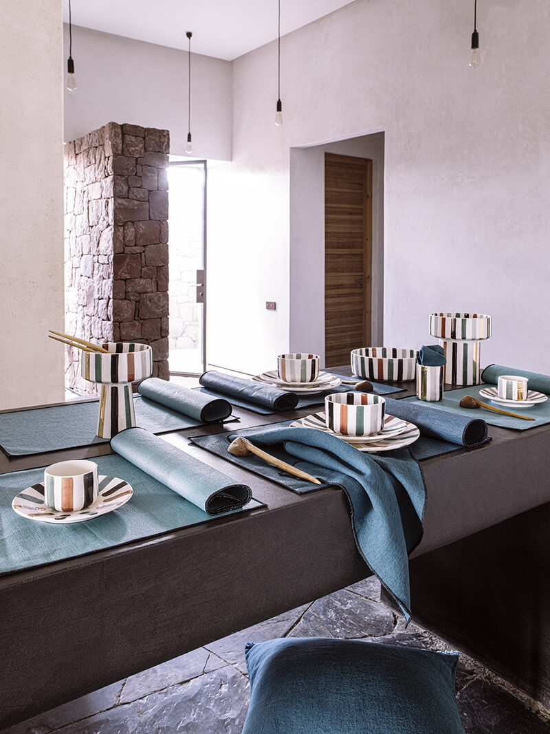 Borgo set de table lin Harmony textile