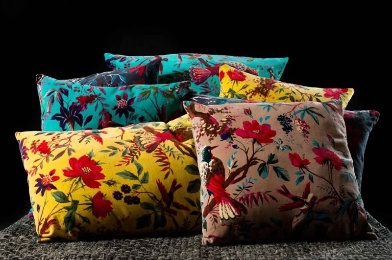 housse de coussin Birdy Harmony textile