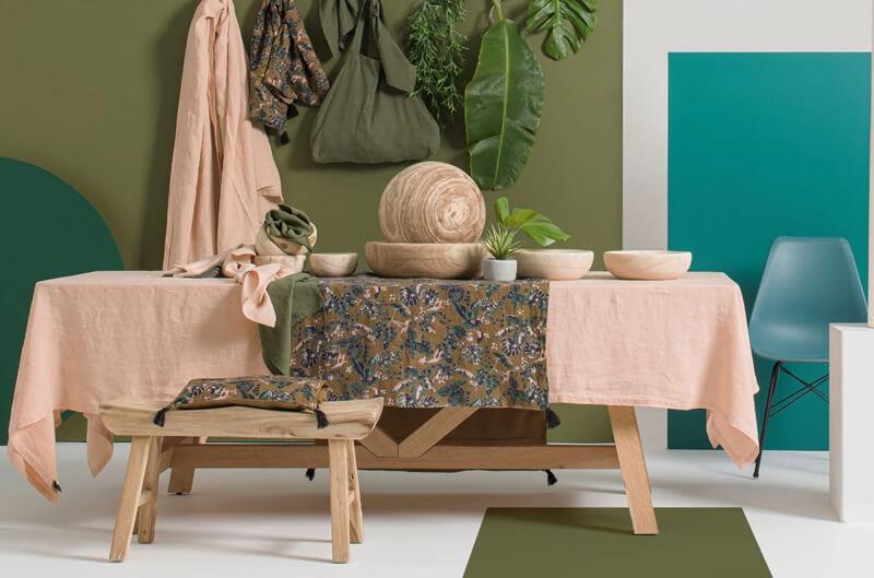 Nappe Nais lin Harmony textile