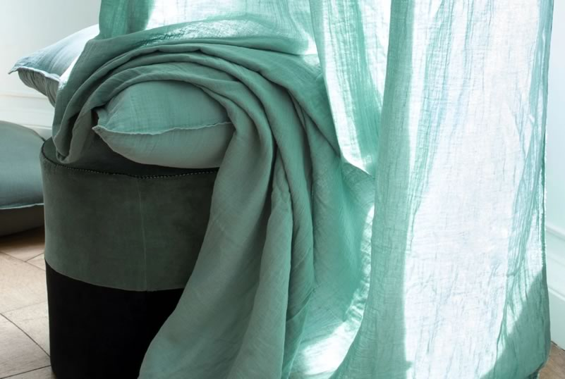Rideaux Dili coton Harmony textile