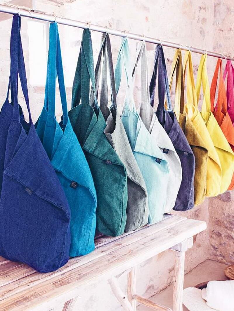SAc Lavezzi cabas Lavezzi lin Harmony textile